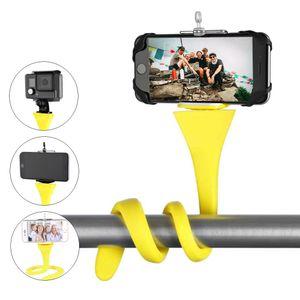 monopod مرونة صورة شخصية عصا حامل قرد ترايبود لفون من GoPro كاميرا دراجة هاتف السيارة دراجة العالمية
