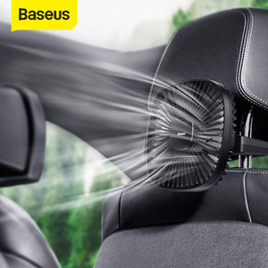 Baseus Magnetic Fan Cooler Mini Fan 360 Degree Rotating Cooling 2 Speed Portable Handle for Car Air Conditioner Rear Seat
