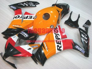 Custom Injection orange white black bodywrk for HONDA CBR1000 RR 2012 2013 2014 2015 2016 CBR1000RR 12 13 14 15 16 ABS Plastic Fairing+Gifts