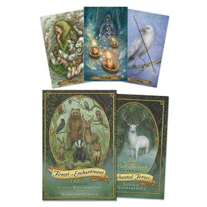 Pdf Sheets Board Party Card Game Version Guidebook Playing Oracle Cards With Family English 78 Cards Of Forest Table Enchantment LKykL