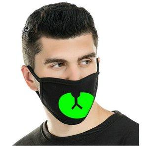 Şapkalar yxlLx hwjh olarak Zan Zan Koyu Daha İyi Full Facemask Koruyucu Yüz Kafatası Glow Glow Şapkalar Neopren Maskeleri