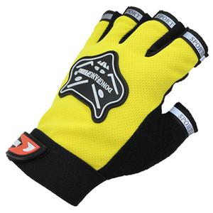 Estate bicicletta Outdoor Ciclismo Sport Palm Beads mano elastico posteriore guanti mezzi di protezione