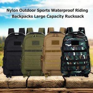 Vendita calda sacchetti esterni texture delicata Nylon Outdoor Sports guida impermeabile zaini grande capacità di archiviazione Zaino