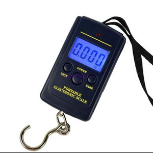 800pcs Free Shipping 40kg Digital Scales Lcd Display Hanging Luggage Fishing Weight Scale