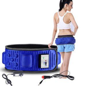 Elétrica Slimming Belt perder peso Massagem Academia X5 vezes Sway Vibration abdominal barriga músculo da cintura instrutor Estimulador