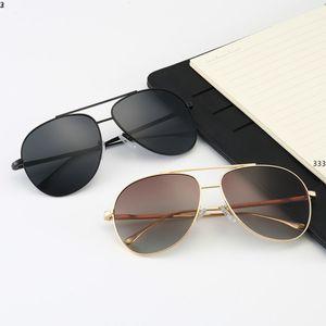03 Sunglasses Designer Gold Flash vidro 1 Lens Para Mens Womens Espelho Óculos de sol Rodada unisex sol glasse