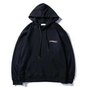 Herren Womens Fashion Wave Drucken Designer Sweatshirts Hoodies Pullover Herbst Winter Brief Druck Sweatshirts Homme Hoodies