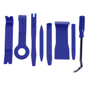 8pcs set Interior Tool Kit Pry Door Clip Car Disassembly Tools DVD Stereo Refit Kits Dashboard Installation Removal Repair Tools