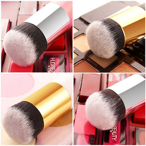 1pc Professional Foundation Brush Chubby Pier 6Color Makeup Brush Flat Cream Makeup Brushes Professional Cosmetic Make-up