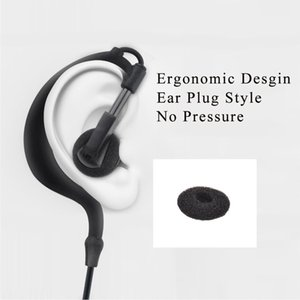 Earpiece Adjustable G-Style Headset Mic Dual PTT for Motorola Two Way Radio walkie talkie CP040 CP125 CP140 CP180