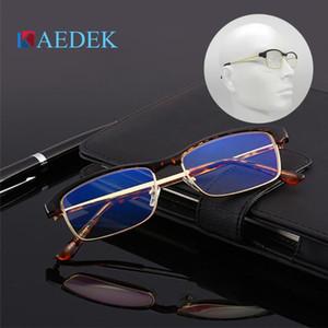 Kaedek Unisex Nuova Lettura Occhiali da lettura UV400 Anti-Blu-ray Gaming Radiation Glass Donne Uomo Blue Light Blocco Eyewear + 1 + 1,5 + 2 + 2,5 + 3