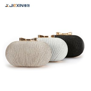 2020 handmade evening banquet bag banquet bag pleated sequin shoulder clutch dress evening bag for women