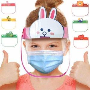 L'isolamento di protezione Visiera trasparente bambini Anti-Fog Full Face Per Trasparente Visor Protezione evitare spruzzi sicuro Shield HHD1509