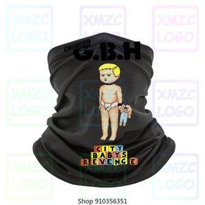 Cobrado Gbh Cidade Babys Revenge hardcore punk Posto Reprint T-shirt Tee Headband lenço Bandana Neck Warmer Mulheres Homens