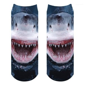 Men and Women Socks Mens Designer Socks Fashionable 3D Shark Pattern Printed Mens Socks Breathable Comfortable