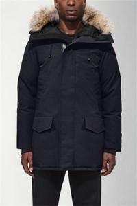Hommes Manteaux d'hiver doudounes Veste Homme extérieur hiver Jassen Big Fur Hooded Down Jacket Fourrure Manteau Manteau Hiver Parka Doudoune