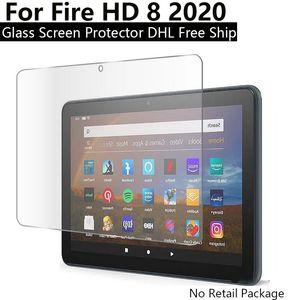 Amazon 유리 방지 방지 화면 8 9H Fire HD 8 HD 화재 2020 / Kindle Plus 유리 보호대 강화 GGSFC