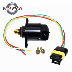 WOLFIGO Idle Air Control Vae with Wire Connector Plug for GMC Isuzu Oldsmobile 17112898 8171128980 UlEj#
