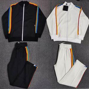 2020 새로운 패션 자켓 여성 남성 높은 품질 가을 겨울 스트리트 Casaul 손바닥 까마귀 바지 S-XL