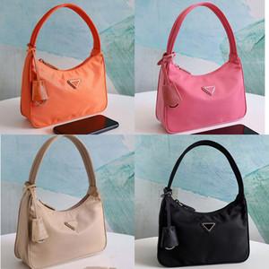 2020 Vente 10 sacs fourre-tout couleur ensemble concepteur hobo femmes sac à bandoulière sacs à main véritable sacs à main en nylon dame sacs fourre-tout Porte-Monnaie trois article