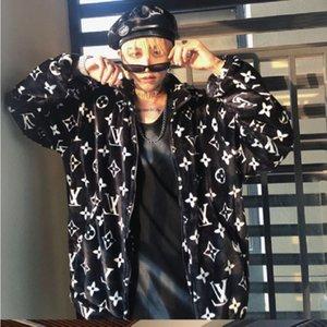 O novo inverno 2020 além de veludo outono / inverno casaco coreano versão feminina da solto estudante masculino de pelúcia casaco e estilo de harmonização feminino
