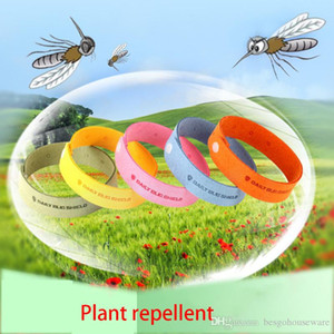 Baby Mosquito Repellent Bracelet Outdoor Plant Essential Oil Mosquito Repellent Belt Safe Non -Toxic Travel Artifact Wristband Bh1781 Zx