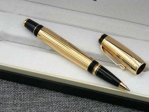 métal cadeau de luxe Allemagne or argent série d'affaires court paragraphe d'écriture Ag 925 Fournitures classique vague cadeau Rollerball Pen