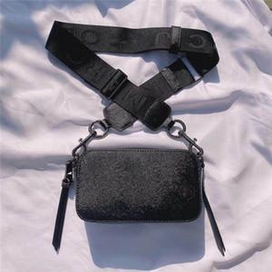 2020 nouveaux sacs de caméra chaude vente de style de petit sac en cuir de vache large mode sac à bandoulière de l'épaule de simples carrés de femmes de sac à main des femmes