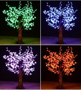 Outdoor colorful changing LED Cherry Blossom Christmas Tree lamp 1.5M 432 led bulds Xmas tree Light for home Festival Decoration