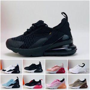 Nike air max 270 2019 huarache الرضع الاحذية أطفال الرياضة الأبيض الأطفال huaraches huraches مصمم hurache المدربين حذاء طفل حجم 28-35