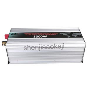 AC 110V 220V Saf sinüs için DC12V 24V Akıllı Güneş inverteri dijital ekran 1pc alaşımlı Alüminyum invertör güneş enerjisi dalga