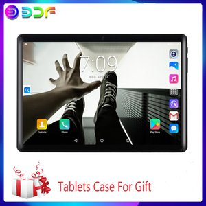 New 10.1 inch Tablets 2.5D Steel Screen Android 9.0 Tablet 3G Phone Call 64GB ROM Bluetooth 4.0 Wi-Fi Tablet PC Luxury Gift