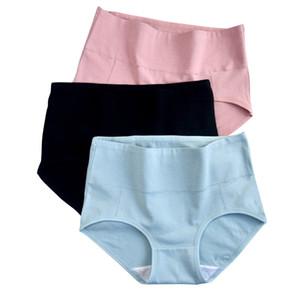 Cotton Underpants M-3XL Women Panties Sexy Breathable Underwear High Waist Female Briefs Soft Underwear Female Lingerie 2020