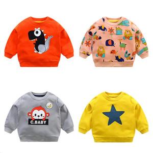 Kid Clothes Girls Sweatshirt Chidren Hoodies Baby Boy Autumn Spring Long Sleeves Sweater Infant T-shirt Child Clothing