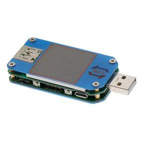 LCD USB الكاشف الفولتميتر مقياس التيار الكهربائي الطاقة القدرات UM25C تستر الحالي