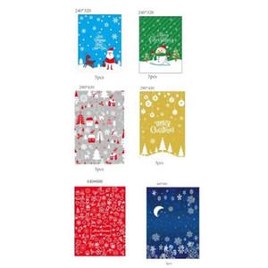 30pcs Hediye İpli Çanta Christmas Present Wrap Düğün Doğum Şeker Çanta Noel Ve Yılbaşı Süsler