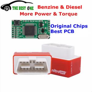 Increase Hidden Power Nitro OBD2 Benzine Chip Tuning Box Plug And Drive Full Chips NitroOBD2 Diesel Car Performance More Torque