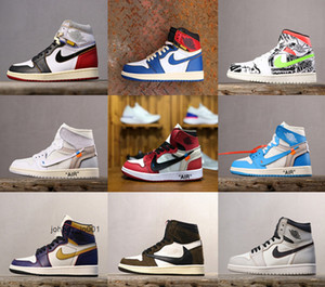Nike air jordan retro 1 Men Shoes Leather Casual Loafers Shoes Breathable Light Slip-on Male Size 36-46 Y65987452