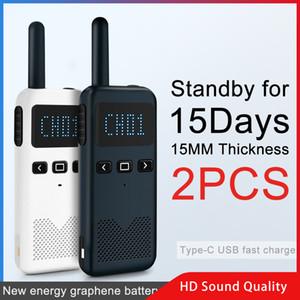 Walkie Talkie 2PCS KSUN KSM3 Civil Kilometer High Power Intercom Outdoor Handheld Mini Radio Talkie Walkie