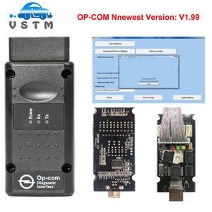 High quality OBD2 OPCOM V1.95 OPCOM 1.99 For O-pel OP COM OP-COM With PIC18F458 Firmware V1.65 Auto Scanner Tool