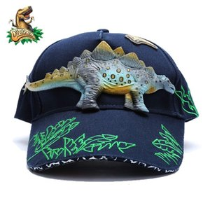 Dinoskulls Dinosaur Children Hat T-rex For Boys Baseball Cap kids summer sun hat Anti-UV Sunscreen Outdoor Travel Hats 2-8 Years
