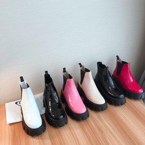 Coincée Fashion Designer Toe Pointu Cuir véritable Chaussures Femme Automne Hiver Nouvelle Martin Bottes ds200808 Runways