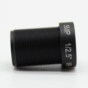 """아이리스 M12 MTV IR 보드 CCTV 렌즈 고정 1 / 2.5 """"HD 5MP의 6mm 보안 IP 카메라 70도보기"""
