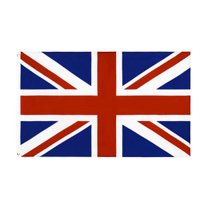 Wholesale 90*150cm stock United Kingdom National Flag UK British Flag England GB World Country Custom Flags