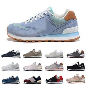 new balance 574 nb 574 Nouveaux hommes womem chaussures de sport classique gris marine blanc Fierté de chaussures de sport en plein air plate-forme de formateurs hommes de jogging