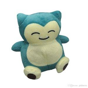 "Top New 5.5"" Presentes 14CM Snorlax Plush Doll Anime Collectible bonecas de pelúcia Partido brinquedos macios"