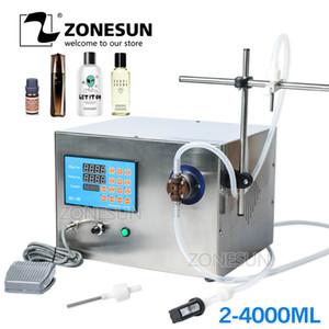 ZONESUN Magnetic Pump Parfüm Mineral Ätherisches Öl Wasser Brauerei Flüssig-Abfüllanlage Getränkemaschinenverpackungs