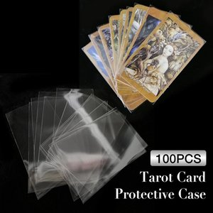 7.2x10.5cm Protective Cover Card Poker Consiglio Tarot Deck Magic Giochi Covers Regni carte tre 6x10.3cm manicotti 100pcs ly_bags Carta shNIJ