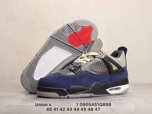 4 SE Derin Ocea 4. nesil ortaokul eğlence spor kültürü basketbol ayakkabıları şövalye siyah, mavi, kırmızı, kahverengi, sarı Işık Kemik Sneake