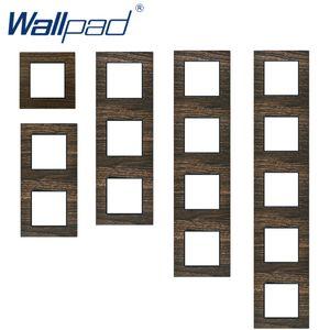 Wallpad Metal Ahşap Panel Alüminyum Malzeme Ahşap Tasarım Çerçeve Otel Çerçeve Sadece